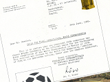 FIFA 通知書